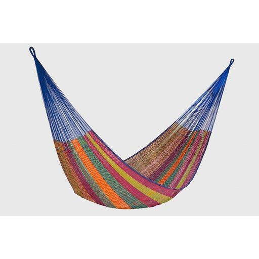 Single Size Cotton Mexican Hammock in Mexicana Colour