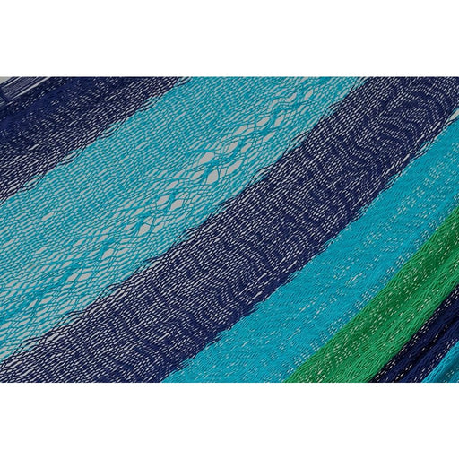 Single Size Cotton Mexican Hammock in Oceanica Colour - Home