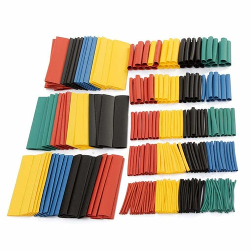 Soloop 984pcs 2:1 Polyolefin Halogen-Free Heat Shrink Tube Sleeving 5 Color 8 Size