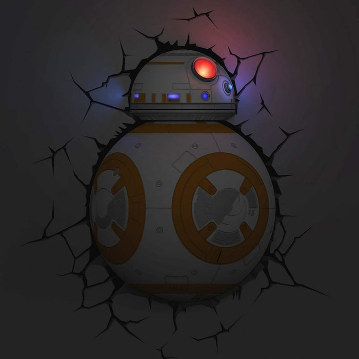 Star Wars BB-8 3D Deco Light goslash fast delivery fast delivery