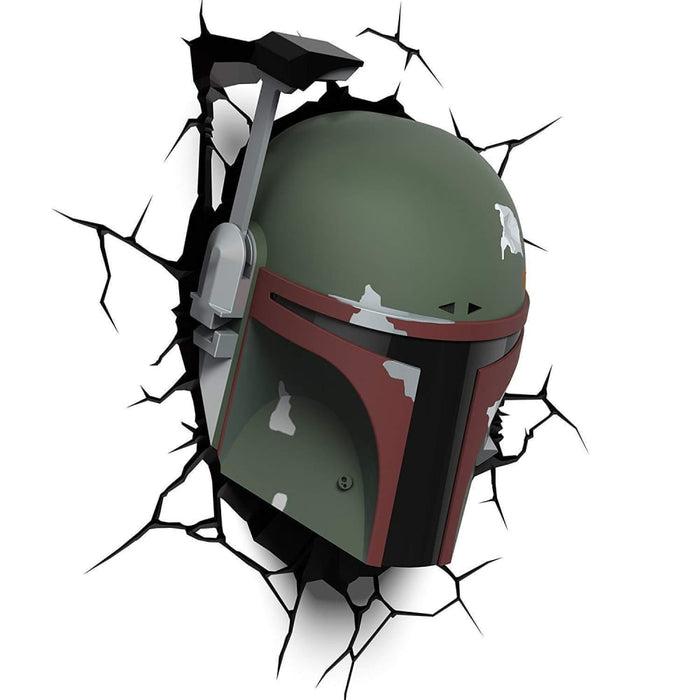 Star Wars Boba Fett 3D Deco Light goslash fast delivery fast delivery
