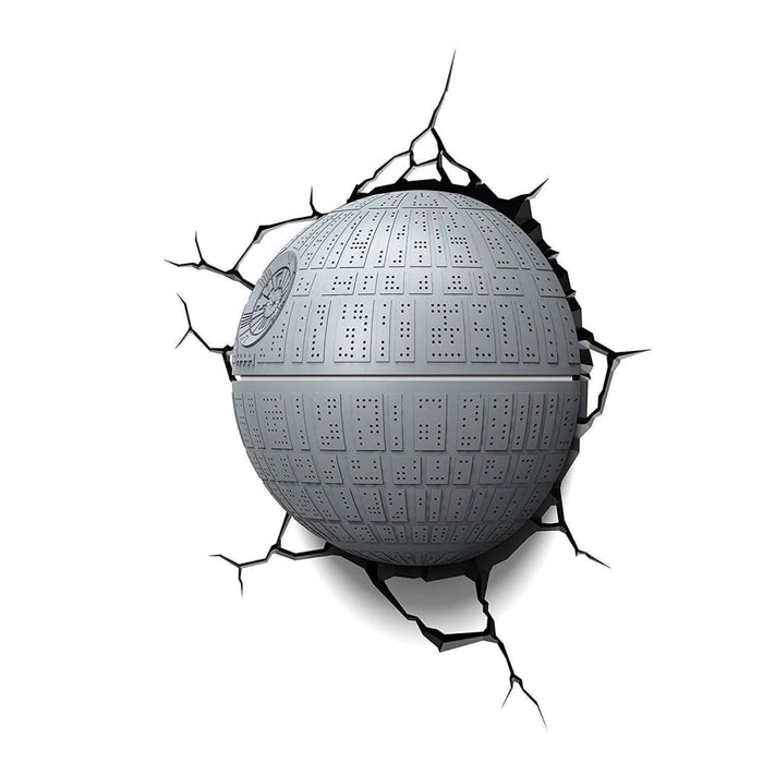 Star Wars Death Star 3D Deco LED Wall Light goslash fast delivery fast delivery