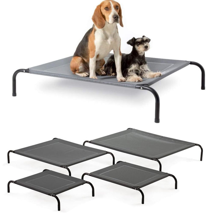 Steel-framed Elevated Dog Bed   available in Sml Med Large