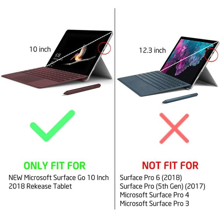 For Surface go Case 10 Inch 2018 Release Cosmo Marble Glitter Protective Bumper