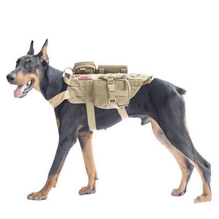 Tactical Waterproof Dog Modular Harness Dog Vests