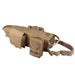Tactical Waterproof Dog Modular Harness Dog Vests Khaki / S