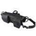 Tactical Waterproof Dog Modular Harness Dog Vests Black / S