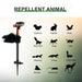 Hi-Tech Animal Away Scarecrow Garden Jet Spray