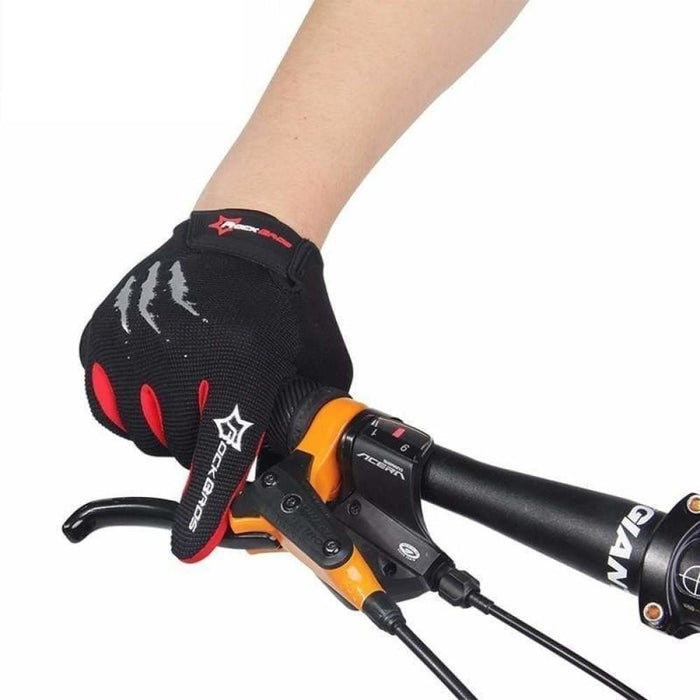 ROCKBROS Touch Screen Bike Bicycle Gloves Full Finger