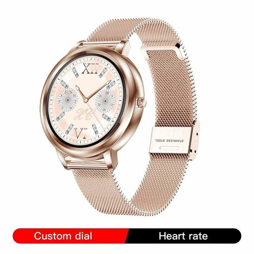 RUNDOING MK20 Smart Watch 2020 Full Touch Screen Women Smartwatch for Girls Compatible With Android and IOS