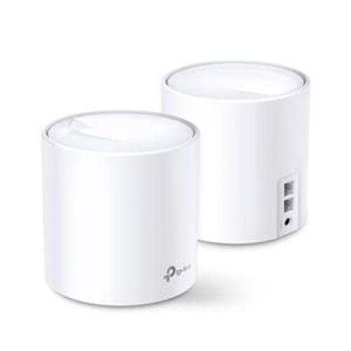 TP-Link Deco X20 Wi Fi 6 Mesh AX1800 - Twin Pack Network -