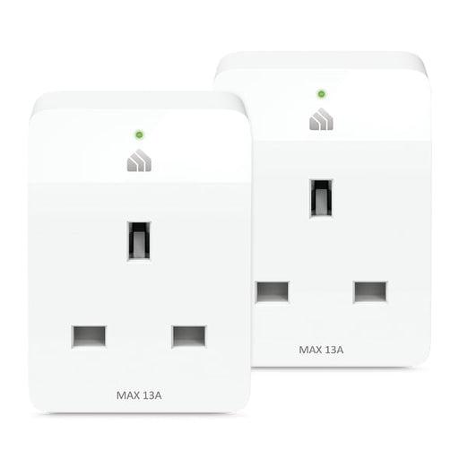 TP-Link KP105 KASA SmartPlug Wi-Fi Slim Twin Pack Network -