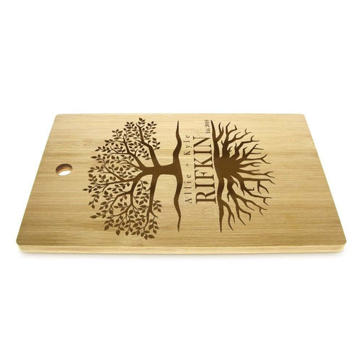Tree Of Life Personalized Couple Name Cutting Board Family Tree Eco Friendly Chopping Board Wedding Tree Couple Anniversary Gift