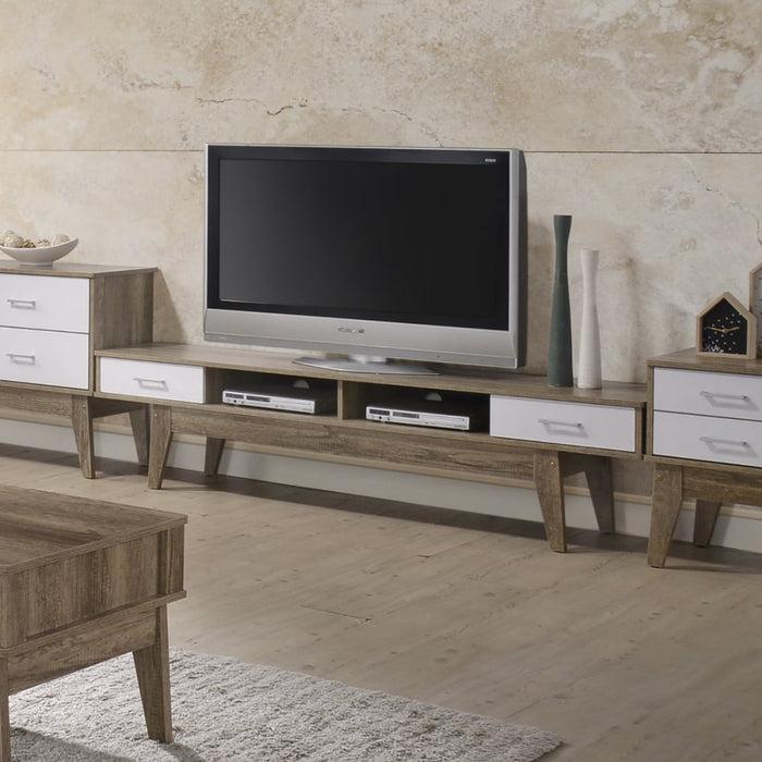 Tv Stand Oak - Furniture > Living Room