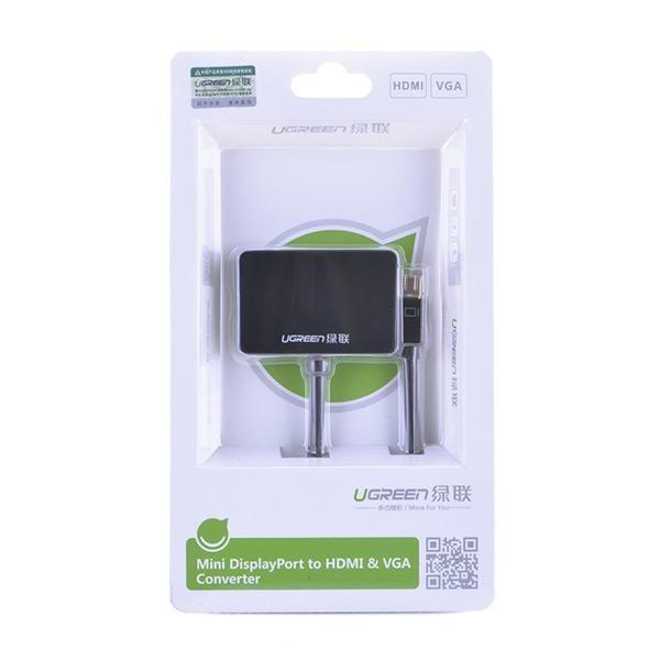 Ugreen Mini Display Port to Hdmi & Vga Dual Converter