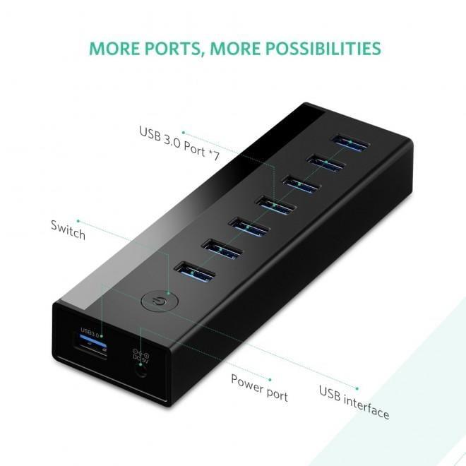 UGREEN 7 Port USB 3.0 Hub (30845)