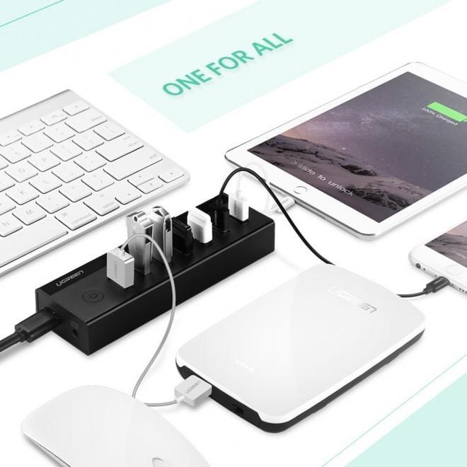 Ugreen 7 Port Usb 3.0 Hub (30845) - Electronics > Computer