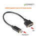 UGREEN DisplayPort male to DVI female converter (20405)