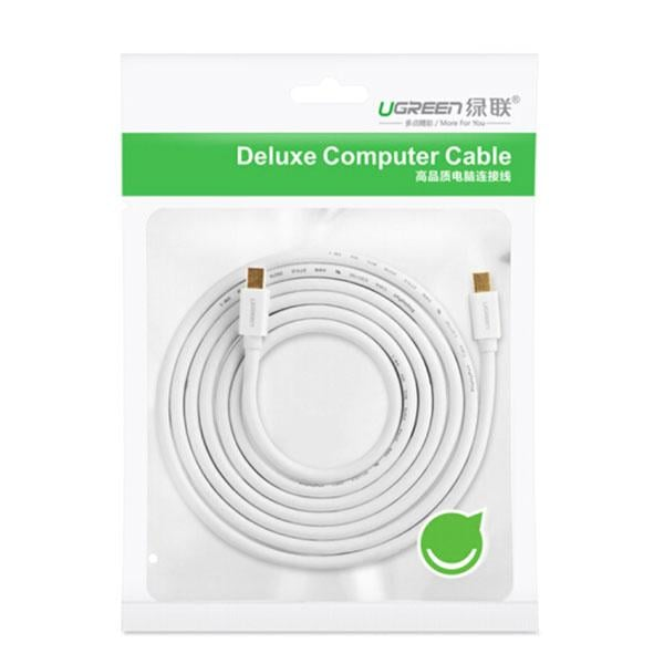 Ugreen Mini Dp Male to Male Cable 2m (10429) - Electronics >