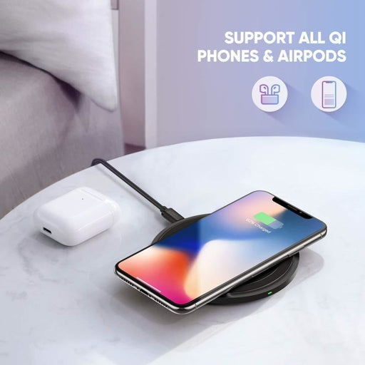 Ugreen Qi Wireless Charger Black 60470 - Electronics >
