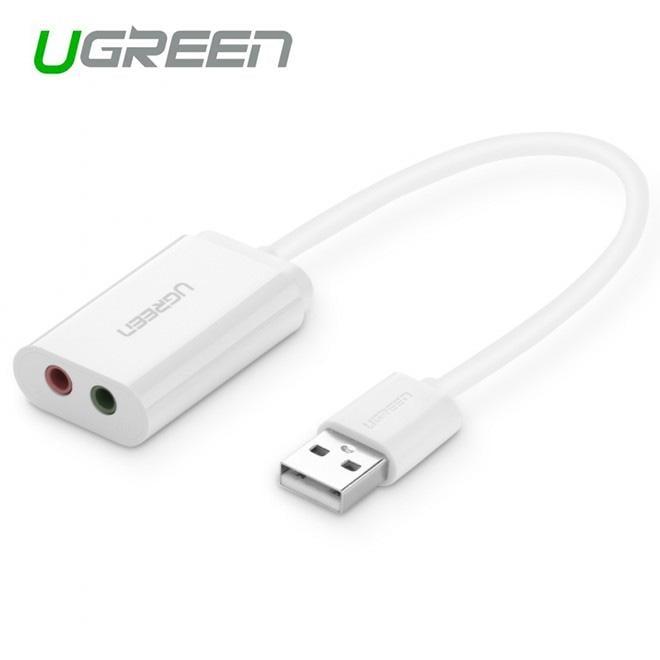 UGREEN USB 2.0 External 3.5mm Sound Card Adapter (30143)