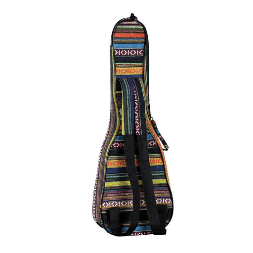 """23"""" Ukulele Bag National Style Ukelele Backpack Case 6mm Cotton Padding Adjustable Shoulder Strap for Concert Ukeleles"""