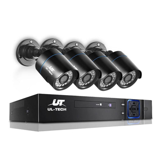 UL Tech 1080P 4 Channel HDMI CCTV Security Camera goslash fast delivery fast delivery