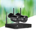 Ul-tech 1080p 4ch Wireless Security Camera Nvr Video - Audio