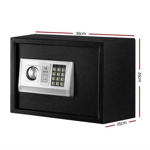Ul-tech Electronic Safe Digital Security Box 16l - Home &