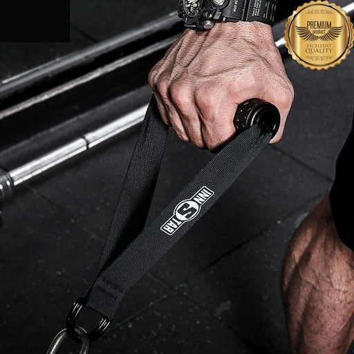 Upgraded Exercise Handles Resistance Band Handles Fitness Handles with Solid ABS Cores, Durable Heavy Double D-Rings,INNSTAR