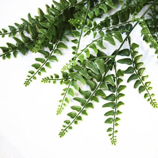 Uv Resistant Dense Hanging Fern 110cm - Home & Garden >