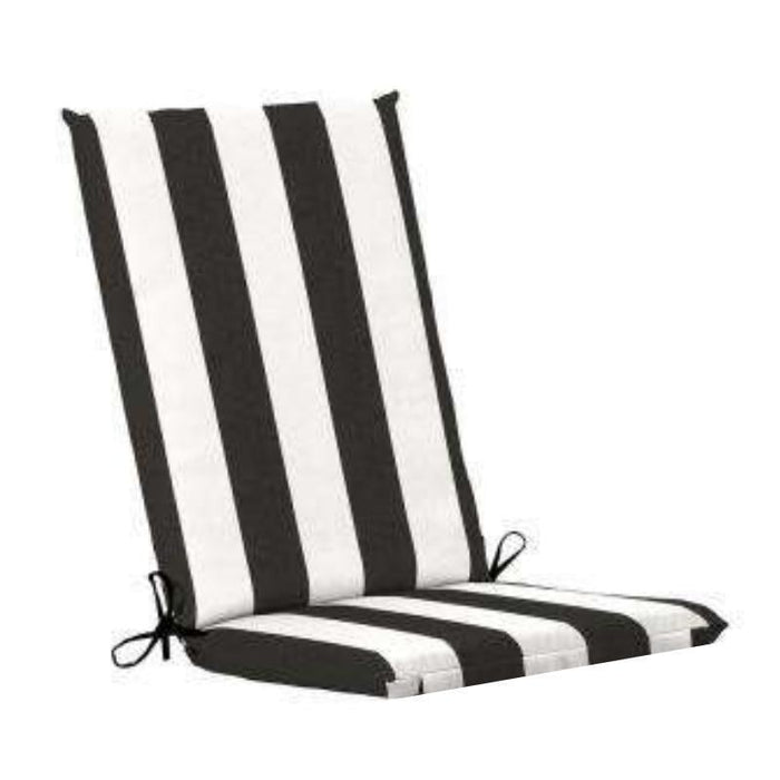 UV Resistant and Shower Proof Striped Outdoor Cushion goslash fast delivery fast delivery