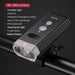 ROCKBROS Bicycle Light IPX-6 Waterproof Bike Flashlight