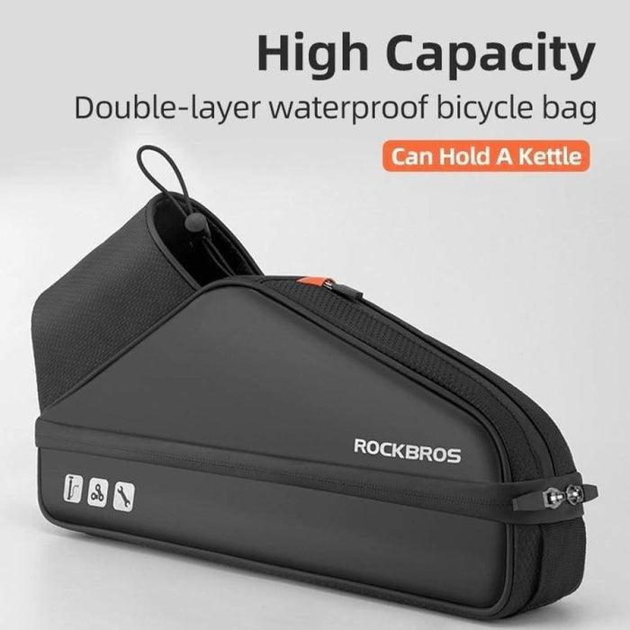 ROCKBROS Scooter Bag Waterproof Electric Scooter Head Handle