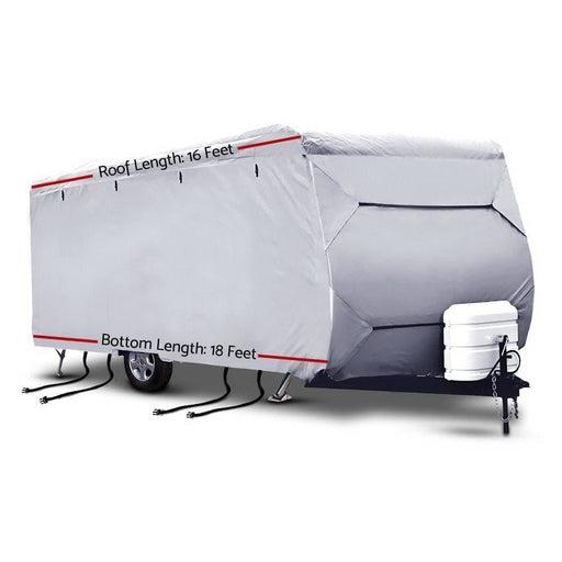 Weisshorn 16-18ft Caravan Cover Campervan 4 Layer Uv Water