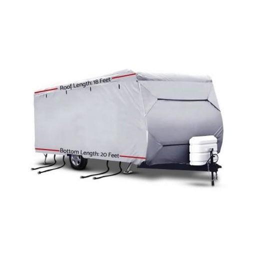 Weisshorn 18-20ft Caravan Cover Campervan 4 Layer Uv Water