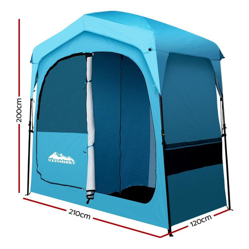 Weisshorn Pop up Camping Shower Tent Portable Toilet Outdoor