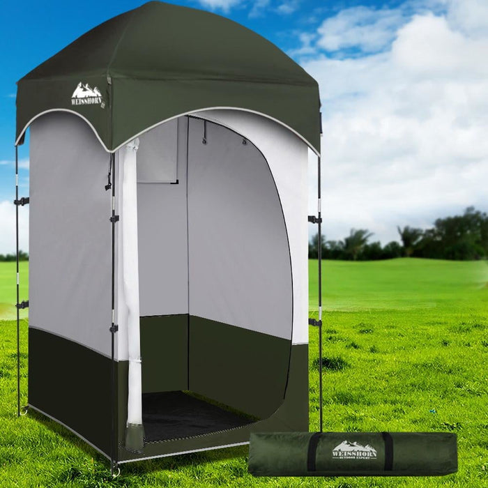 Weisshorn Shower Tent Outdoor Camping Portable Changing Room