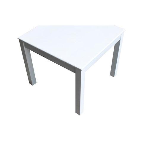 White Square Table