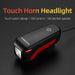 ROCKBROS Bicycle Light Bike Front Flashlight Wide-Range USB