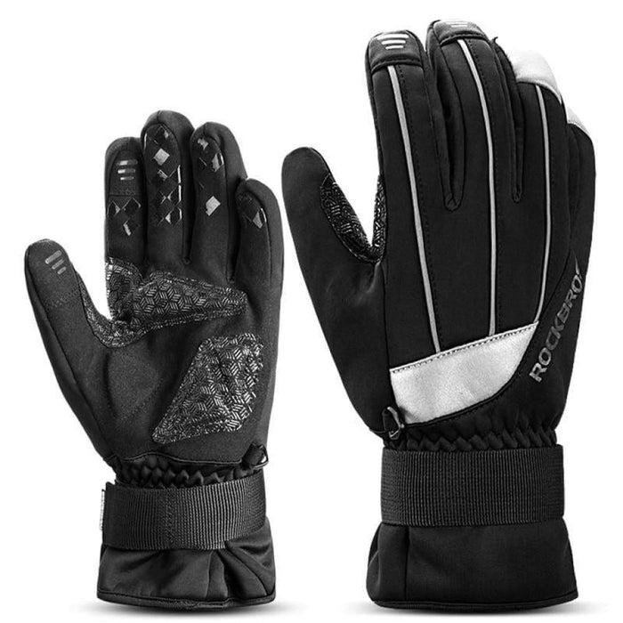 ROCKBROS Bicycle Gloves Windproof Anti-slip Keep Warm MTB