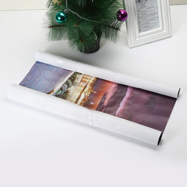 Vision City Christmas Eve Frameless Canvas Painting