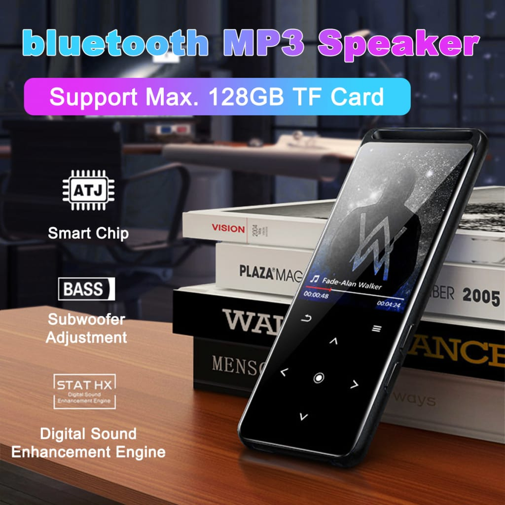M6 Bluetooth Lossless Mp3 Player Music Player - 2 Options