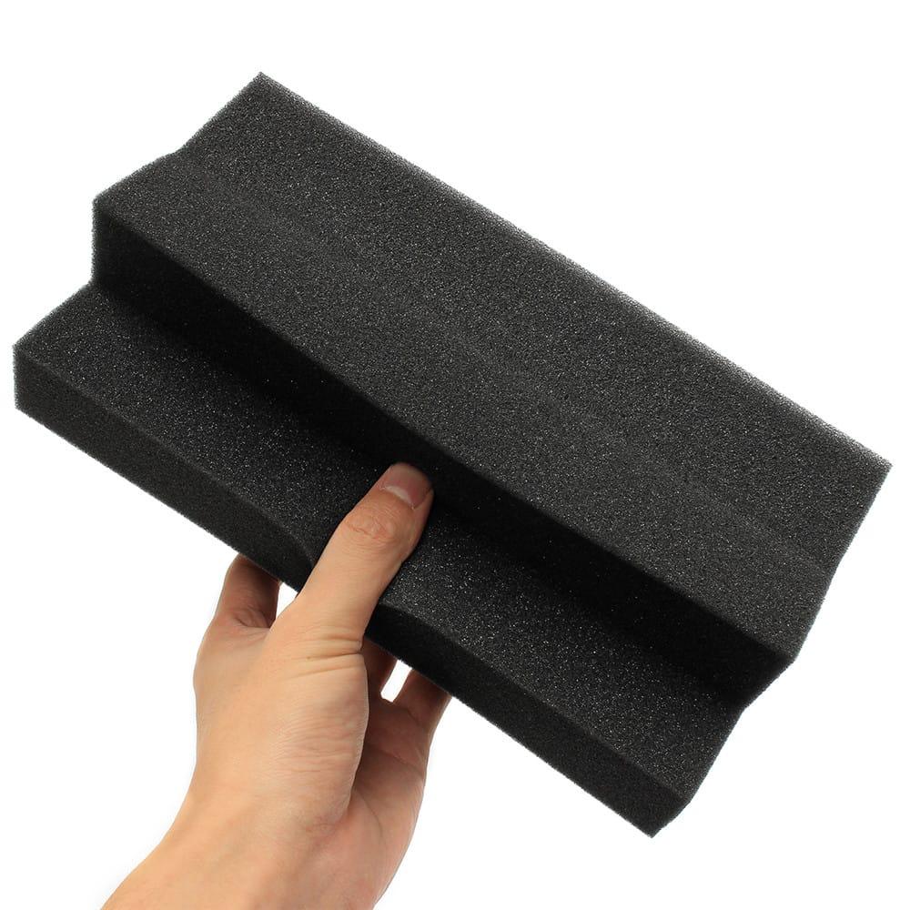 30cmx30cmx5cm Black Acoustic Wedge Foam Tile Sound
