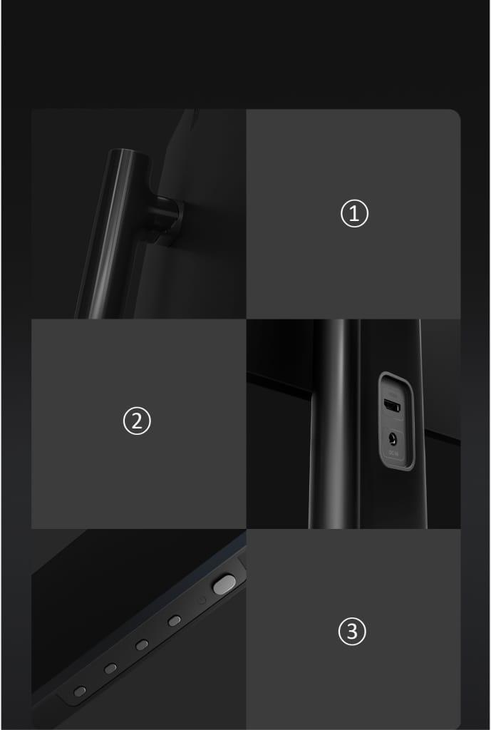 Original Xiaomi Office Gaming Monitor Ips Technology -
