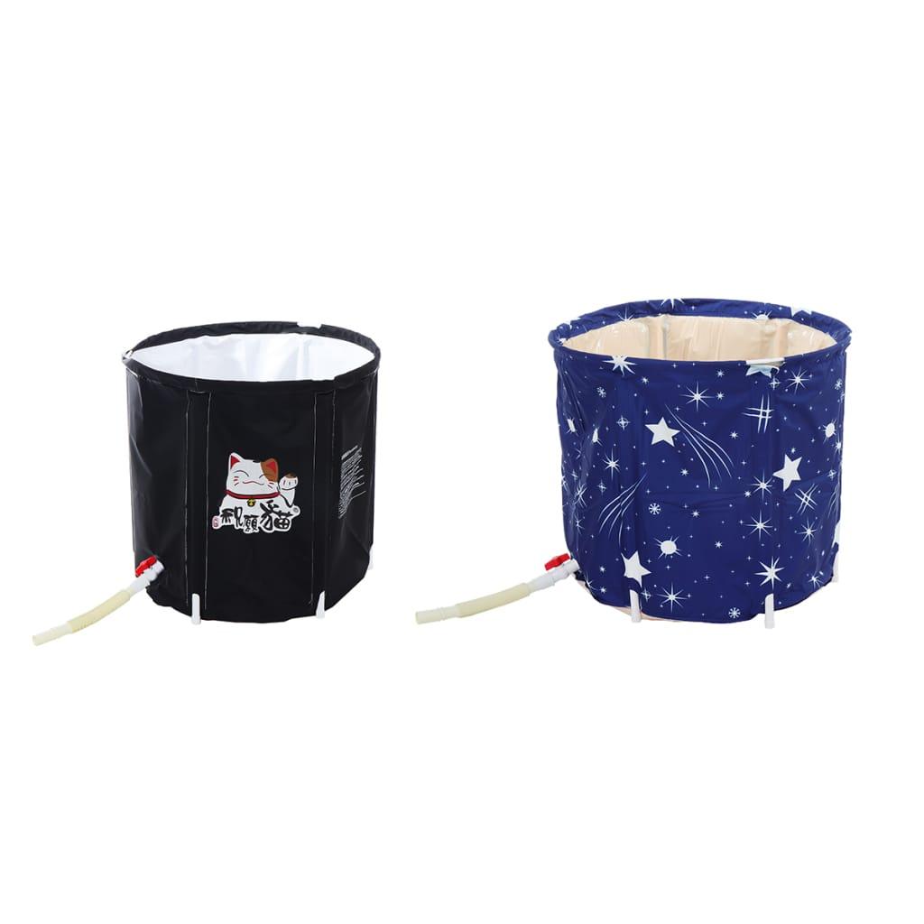 Pvc Bathtub Portable Water Tub Adult Spa Bath Bucket - 3