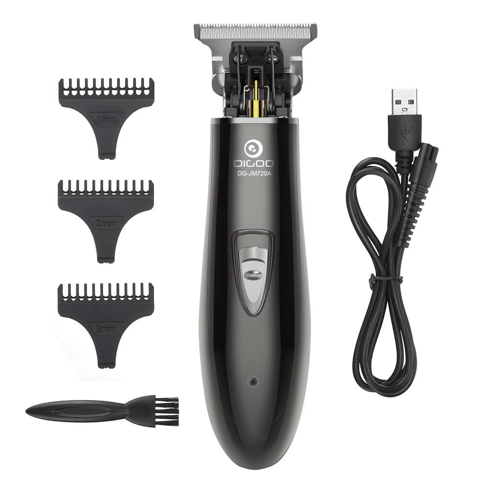 Cordless Electric Hair Trimmer 900mah Usb Rechargeable Hair