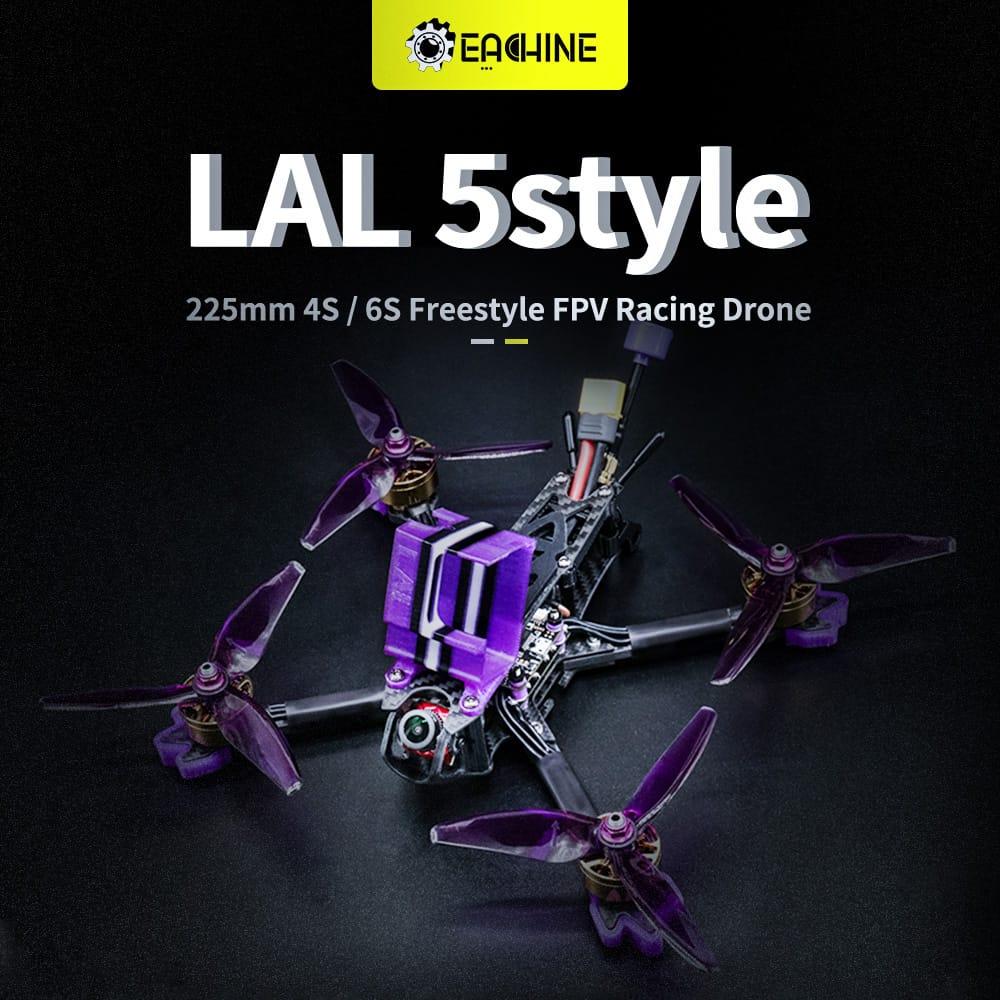 Fpv Racing Drone Pnp/bnf F4 Bluetooth Fc Caddx Ratel - 3
