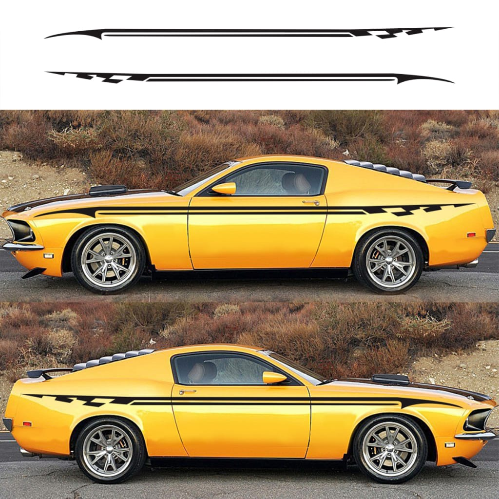 Universal Diy Vinyl Stripe Pinstripe Decal for Car - 4