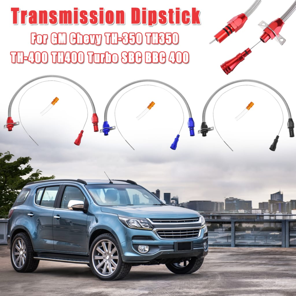 Car Flexible Stainless Transmission Dipstick for Gm Chevy -